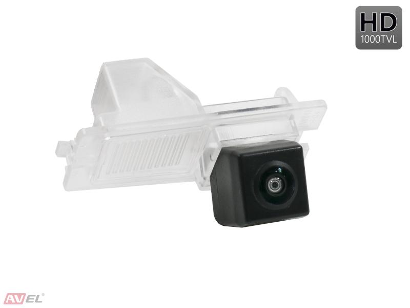 CCD HD штатная камера заднего вида AVS327CPR (#078) для SSANGYONG REXTON / KYRON / ACTYON SPORTS