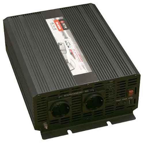 Преобразователь напряжения AcmePower AP-DS3000/12 (12В, 3000 Вт, usb) преобразователь инверторный а м wester msw250 12 220в usb 250вт модифицированная синусоида