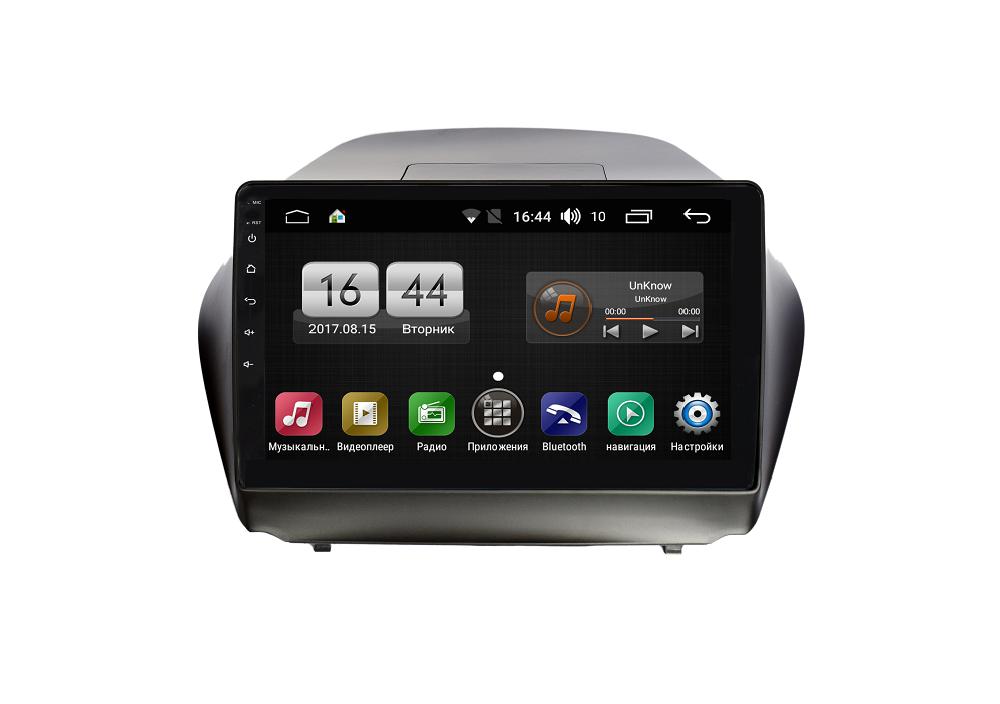 Штатная магнитола FarCar s185 для Hyundai IX35 2010-2015 на Android (LY361R) (+ Камера заднего вида в подарок!)