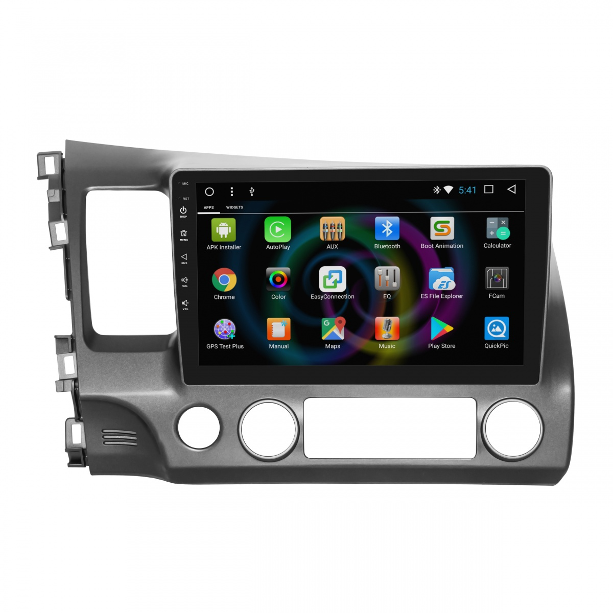 Штатное головное устройство MyDean B044 для Honda Civic 4D (2006-2011) (+ Камера заднего вида в подарок!)