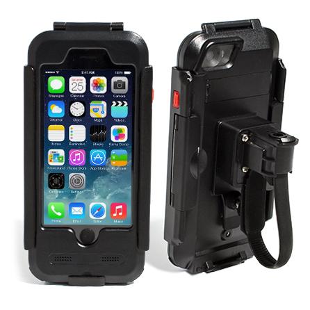 Держатель для iPhone 6 и 6s Avis DRC6IPHONE Черный аудиосистема для мотоцикла avis мт185 black