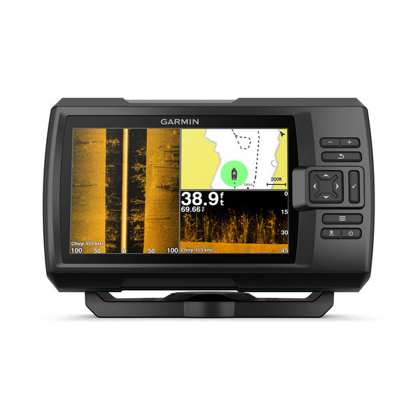 Эхолот Garmin STRIKER Plus 7sv c датчиком GT52HW-TM garmin эхолот striker 5dv