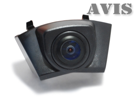 CCD штатная камера переднего вида AVIS AVS324CPR для CADILLAC SRX (#109) for cadillac srx high quality stainless steel 2012 2013 2014 interior audio speaker cover trims 4pcs set