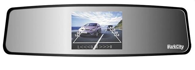 Монитор ParkCity PC-T35RC1 в виде салонного зеркала с 3.5-дюймовым дисплеем