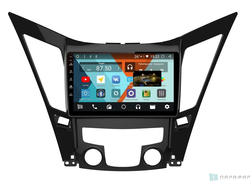 Штатная магнитола Parafar с IPS матрицей для Hyundai Sonata 2011-2013 на Android 8.1.0 (PF310K) штатная магнитола daystar ds 7067hd hyundai elantra 2013 android 8 1 0 8 ядер 2gb озу 32gb памяти
