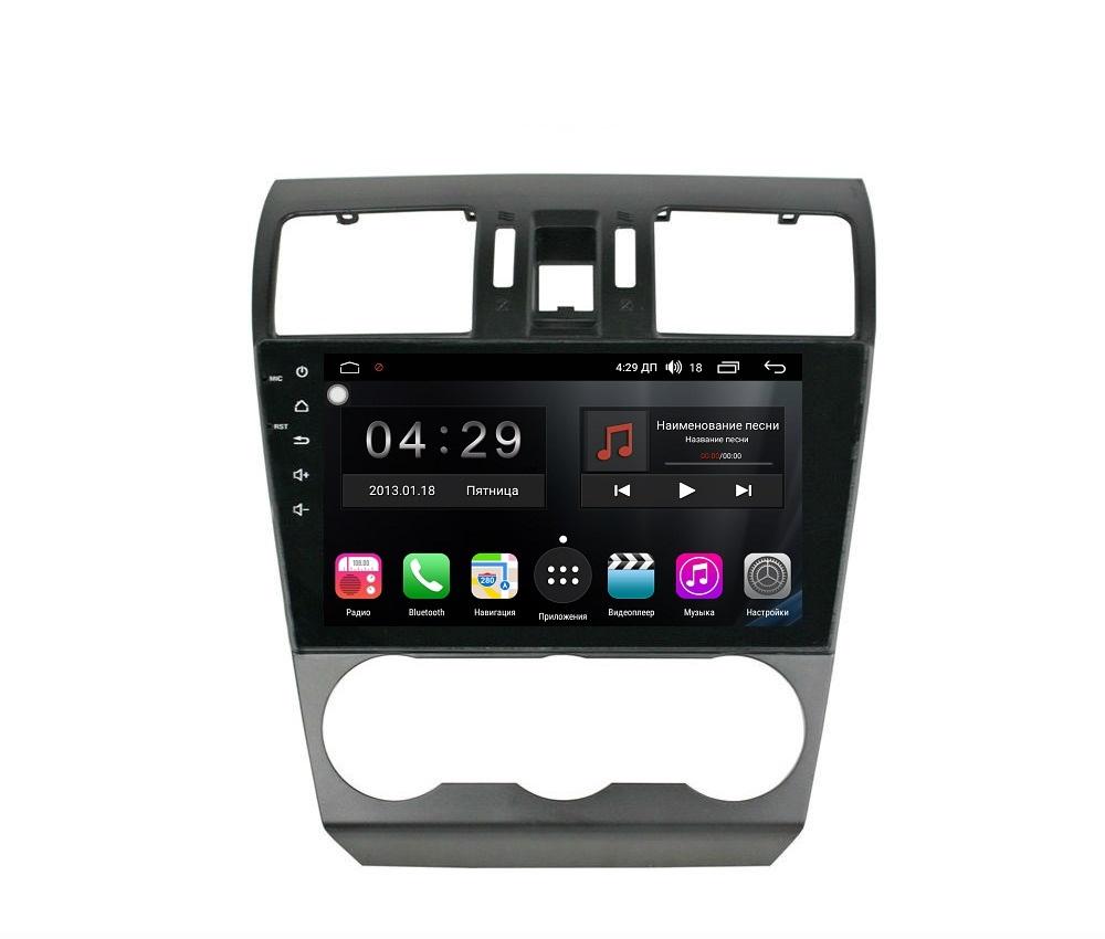 Штатная магнитола FarCar s300-SIM 4G для Subaru Forester (2013-2015), XV (2013-2015) на Android (RG901/775R) (+ Камера заднего вида в подарок!)