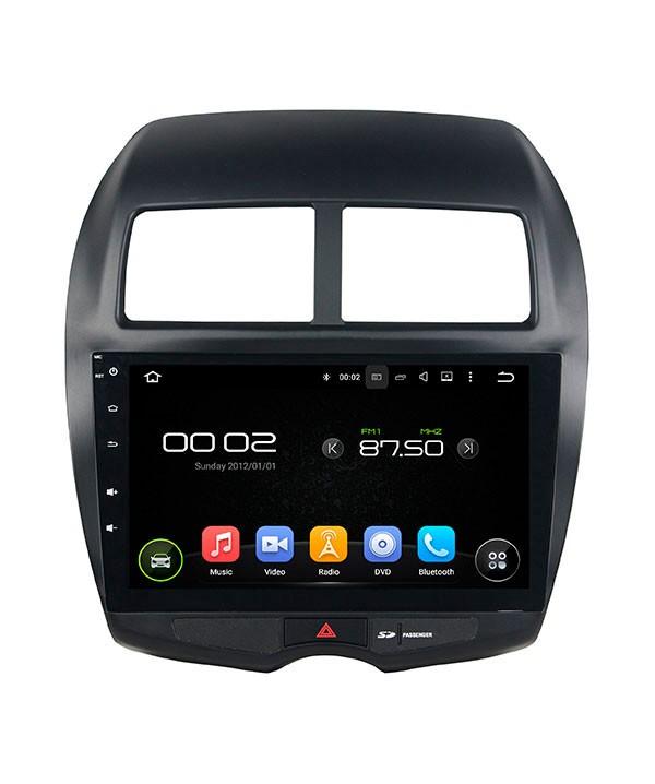 Штатная магнитола для Mitsubishi ASX/RVR, Citroën C4 AirCross, Peugeot 4008 CARMEDIA KD-1206-P3-7 на Android 7.1