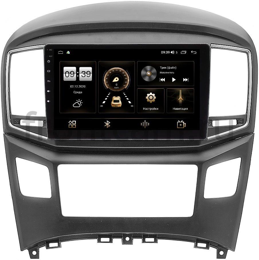 Штатная магнитола LeTrun 4166-9-604 для Hyundai H1 II, Grand Starex I 2015-2019 на Android 10 (4G-SIM, 3/32, DSP, QLed) (+ Камера заднего вида в подарок!)