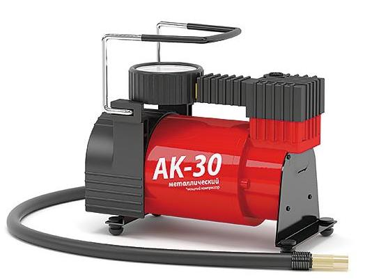 Компрессор автомобильный Autoprofi AK-30 ремкомплекты автомобильные autoprofi ремкомплект бескамерных шин autoprofi rem 30 standart