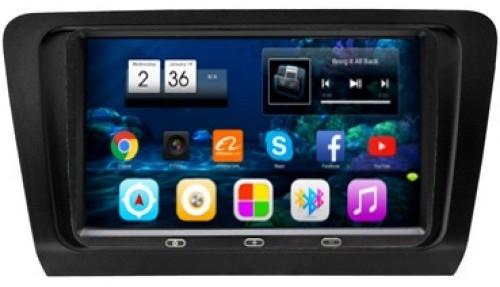 Штатная автомагнитола VOMI VM1688-T8 A7 для Skoda Octavia A7 2014+ RSC-8676 A7 на Android 7 (+ Камера заднего вида в подарок!)