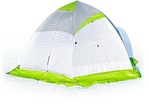 Зимняя палатка Лотос 4 (+ Дарим комплект ввертышей для палаки.)