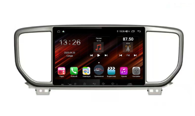 Штатная магнитола FarCar s400 Super HD для KIA Sportage на Android (XH1143R) (+ Камера заднего вида в подарок!)