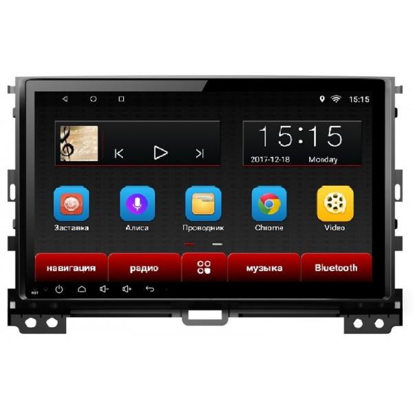 Головное устройство Subini TOY902 с экраном 9