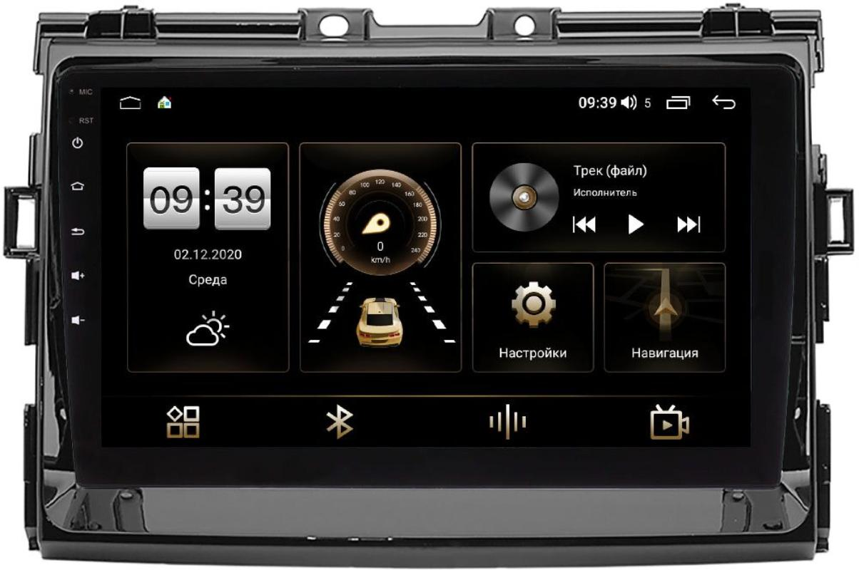 Штатная магнитола LeTrun 4166-9-199 для Toyota Estima III, Previa 2000-2021 на Android 10 (4G-SIM, 3/32, DSP, QLed) (глянец) (+ Камера заднего вида в подарок!)