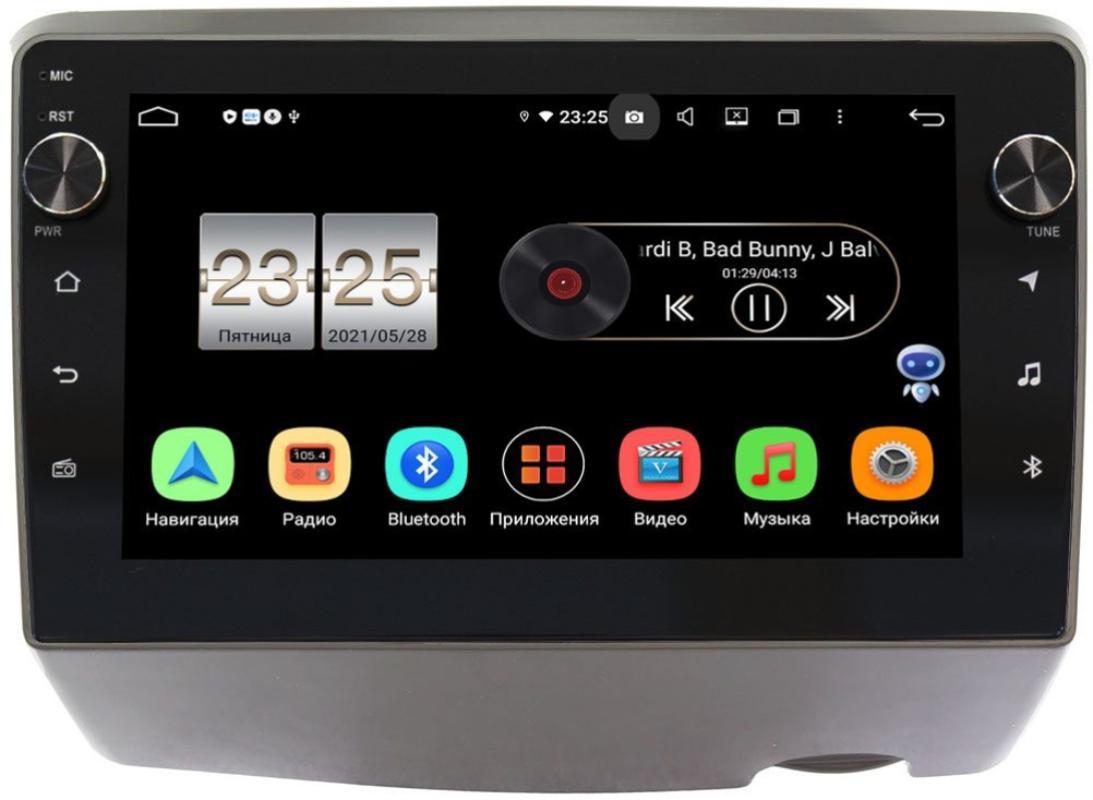 Штатная магнитола LeTrun BPX409-9294 для Toyota Vitz I (XP10) 1999-2005 на Android 10 (4/32, DSP, IPS, с голосовым ассистентом, с крутилками) (+ Камера заднего вида в подарок!)