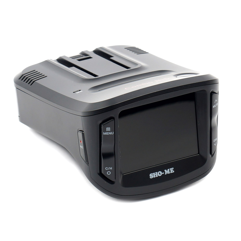 Видеорегистратор с радар-детектором SHO-ME Combo №5 А12 (+ Разветвитель в подарок!) видеорегистратор 5 в 1