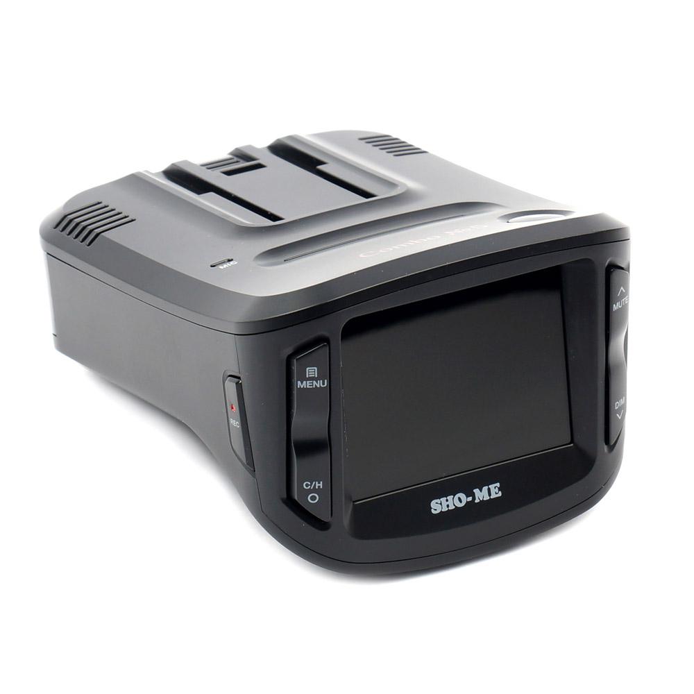 Видеорегистратор с радар-детектором SHO-ME Combo №5 А12 автомобильный видеорегистратор sho me sfhd 500