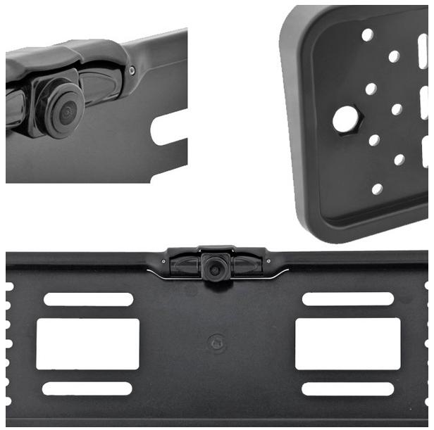 цена на Камера заднего вида в рамке номерного знака SWAT VDC-006