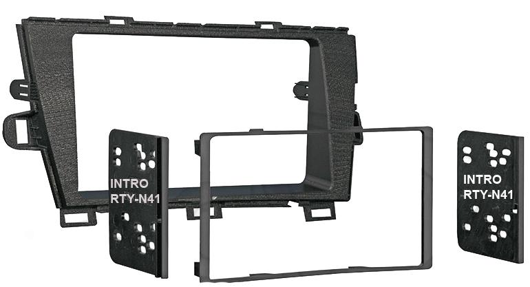 Переходная рамка Intro RTY-N41 для Toyota Prius 3 2010-11 2DIN (крепеж)