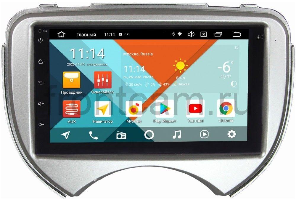 Магнитола в штатное место 2 din Nissan March IV (K13) 2010-2013 Wide Media MT7001PK-2/16-RP-NSMC-153 на Android 9.1 (DSP 3G-SIM) (+ Камера заднего вида в подарок!)