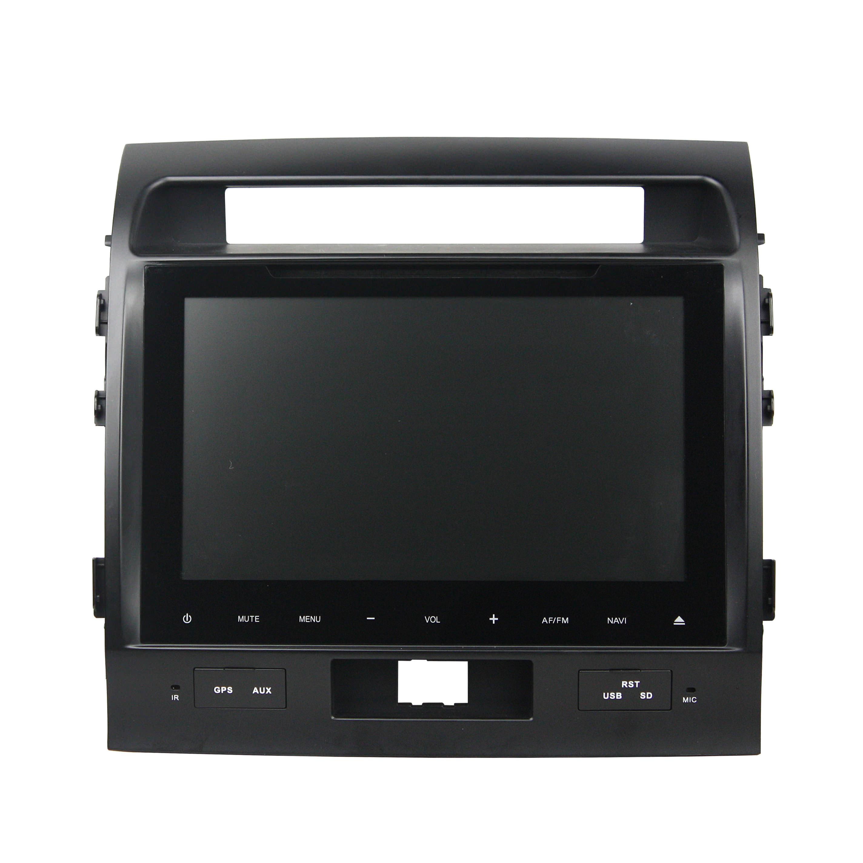 Штатная магнитола CARMEDIA KD-9009-P3-7 DVD Toyota Land Cruiser 200 2007-2015 Elegance (только простые комплектации без управления климатом с ГУ) штатная магнитола для toyota land cruiser prado 120 2002 2009 carmedia kd 9026 p3 7 на android 7 1