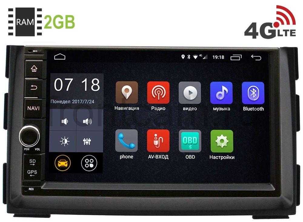 Штатная магнитола LeTrun 1968-RP-KICEC10-72 для Kia Ceed I 2010-2012, Venga I 2010-2018 Android 6.0.1 (4G LTE 2GB) штатная магнитола letrun 1867 для kia sportage 2010 2016 android 6 0 1