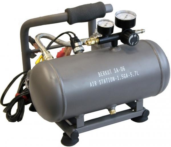 Компрессорная портативная станция Беркут AIR STATION SA-06 yihua 898d led digital 700w lead free smd desoldering soldering station hot air soldering station