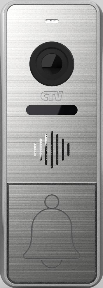 Вызывная панель для видеодомофонов CTV-D4005 (серебристый) вызывная панель для видеодомофонов ctv d3001 серебристый