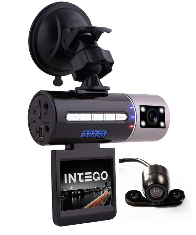 Видеорегистратор Intego VX-306 DUAL видеорегистратор intego vx 215hd