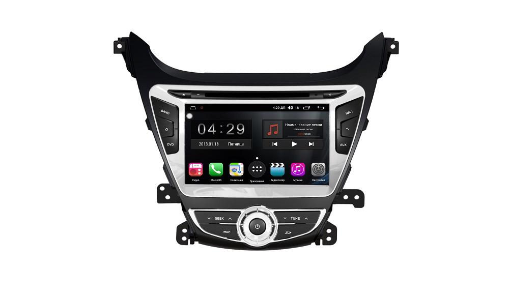 Штатная магнитола FarCar s300 для Hyundai Elantra на Android (RL359) (+ Камера заднего вида в подарок!)