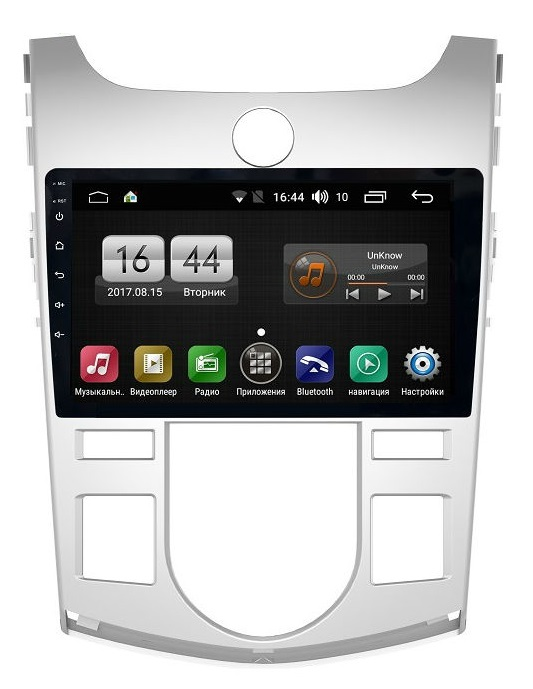 Штатная магнитола FarCar s195 для Kia Cerato 2009-2012 на Android (LX038R) (+ Камера заднего вида в подарок!)