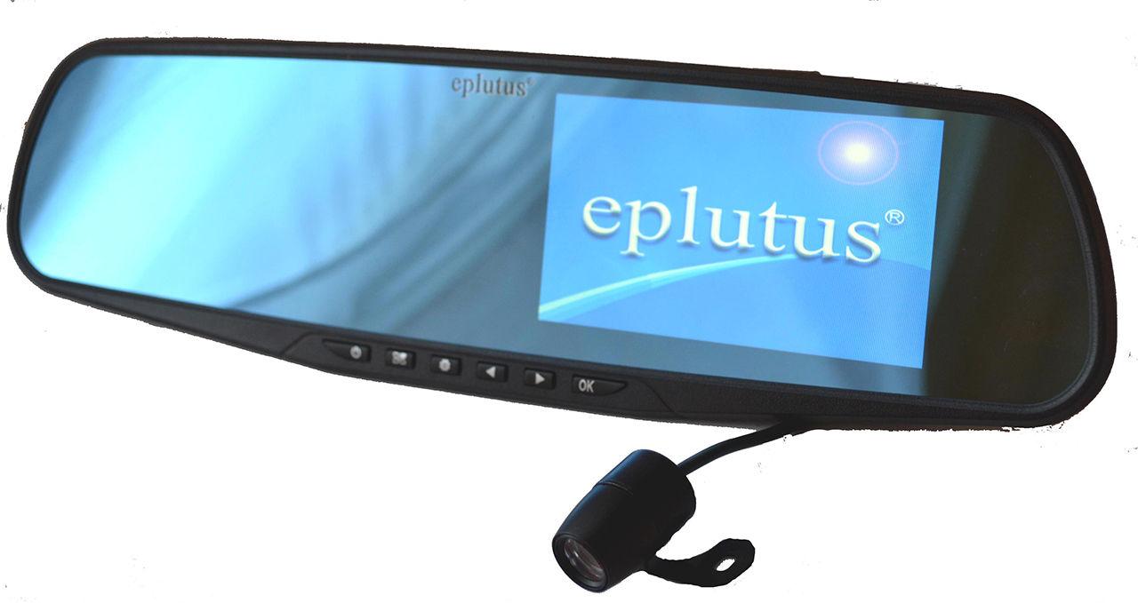 Автомобильный видеорегистратор Eplutus GR-50 автомобильный телевизор eplutus ep 192t