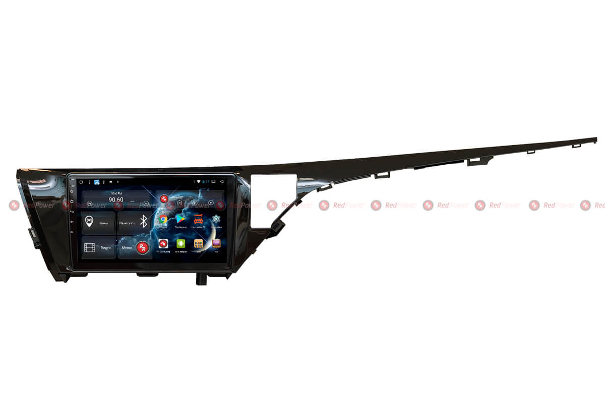 Автомагнитола для Toyota Camry XV70 (2017+) RedPower 51331 R IPS DSP ANDROID 8+ (+ Камера заднего вида в подарок!)