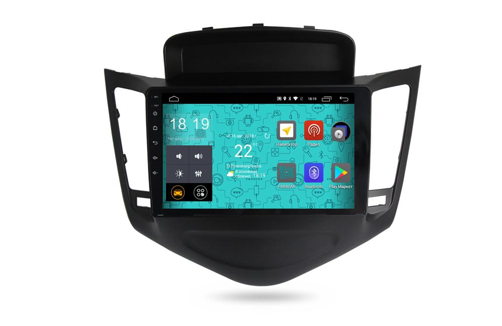 Штатная магнитола Parafar 4G/LTE с IPS матрицей для Chevrolet Cruze 2009-2012 на Android 7.1.1 (PF045) unlocked netger 4g 150mbps sierra wireless router aircard 770s 4g lte mobile wifi hotspot dongle 4g pocket wifi