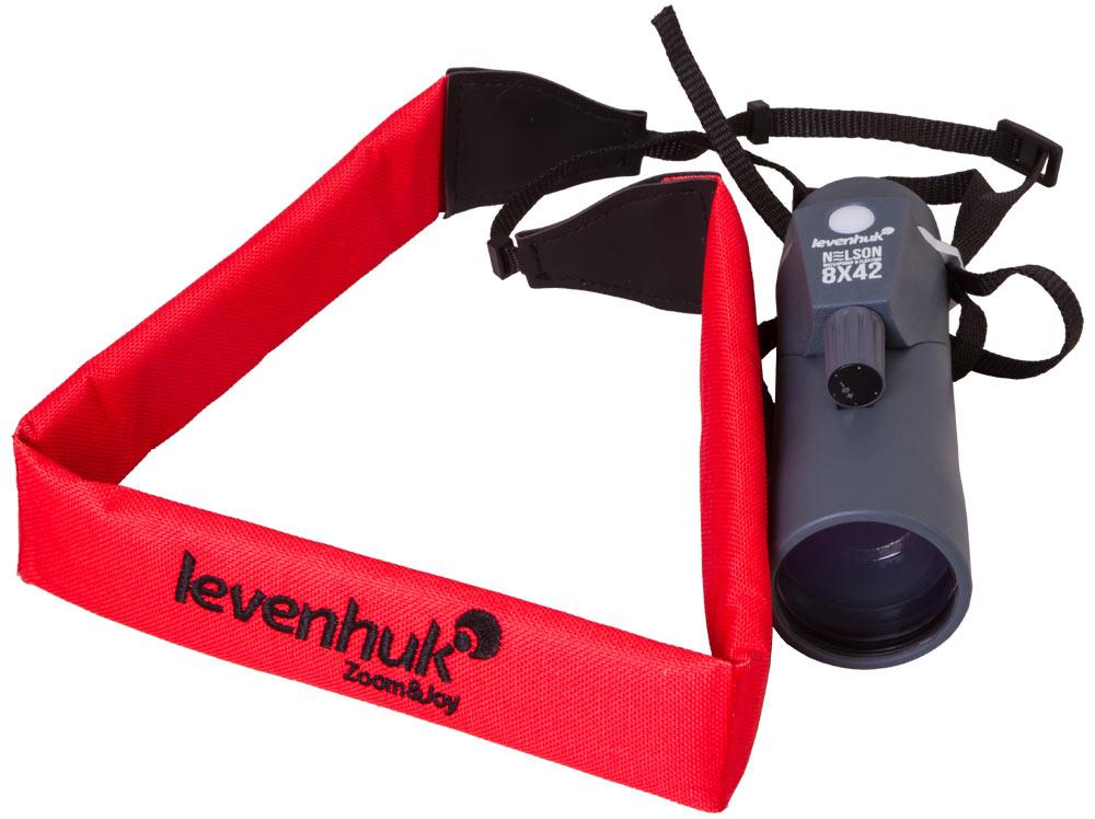 Монокуляр Levenhuk Nelson 8x42 (+ Автомобильные коврики для впитывания влаги в подарок!)