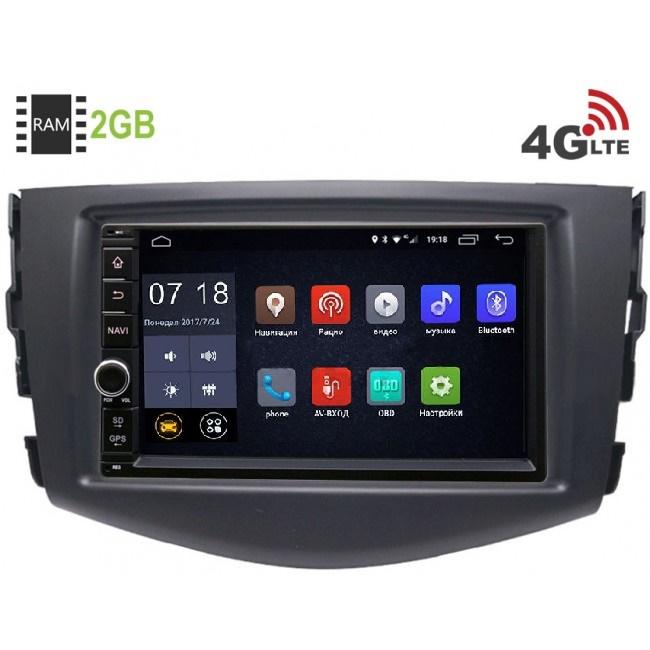 Штатная магнитола LeTrun 1968-RP-TYRV3Xb-13 для Toyota RAV4 (XA30) 2006-2013 Android 6.0.1 (4G LTE 2GB) (+ Камера заднего вида в подарок!)