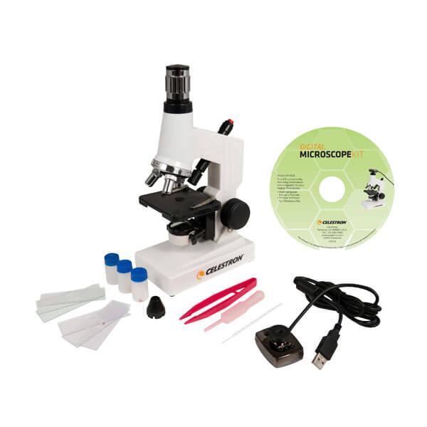 Микроскоп Celestron 44320 (+ Книга «Невидимый мир» в подарок!)