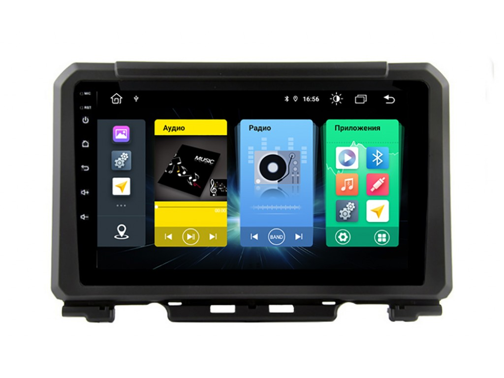 Головное устройство vomi FX405R9-MTK-LTE для Suzuki Jimny 2018+ (+ Камера заднего вида в подарок!)