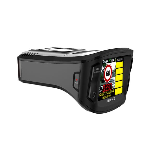 Sho-me Combo №5 A12Sho-me<br>Комбинированное устройство Sho-me Combo №5 A12 совмещает в себе видеорегистратор высокой четкости и радар-детектор нового поколения, принимающий все типы излучения, в том числе и от современных мало-шумных стационарных и переносных радарных комплексов.<br>