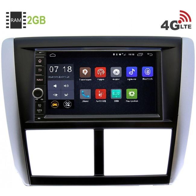 Штатная магнитола LeTrun 1968-RP-SBFR-23 для SSubaru Forester III 2008-2013, Impreza III 2007-2013  Android 6.0.1 (4G LTE 2GB) (+ Камера заднего вида в подарок!)