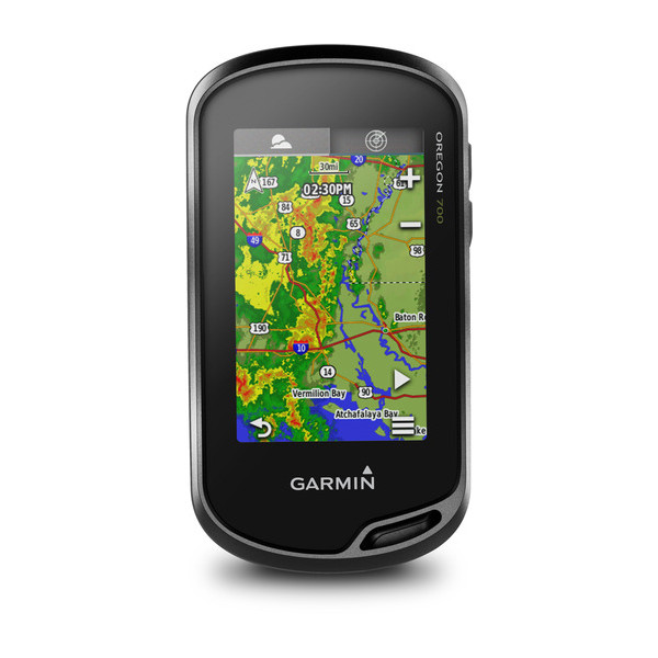 Портативный GPS-навигатор Garmin Oregon 700t + Карты Топо 6.xx