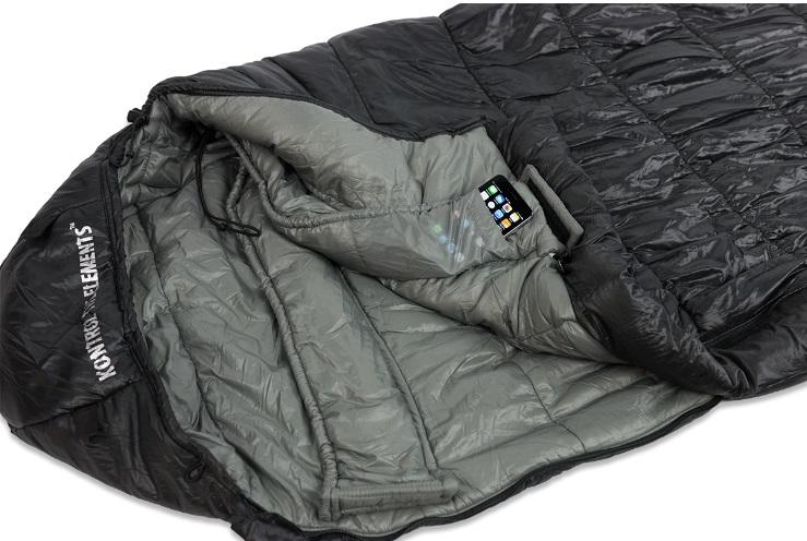 Спальный мешок Klymit KSB 0˚, черный (13SB03) спальный мешок