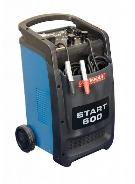 Профессиональное пуско-зарядное сетевое устройство Aurora START 600 BLUE 12/24В
