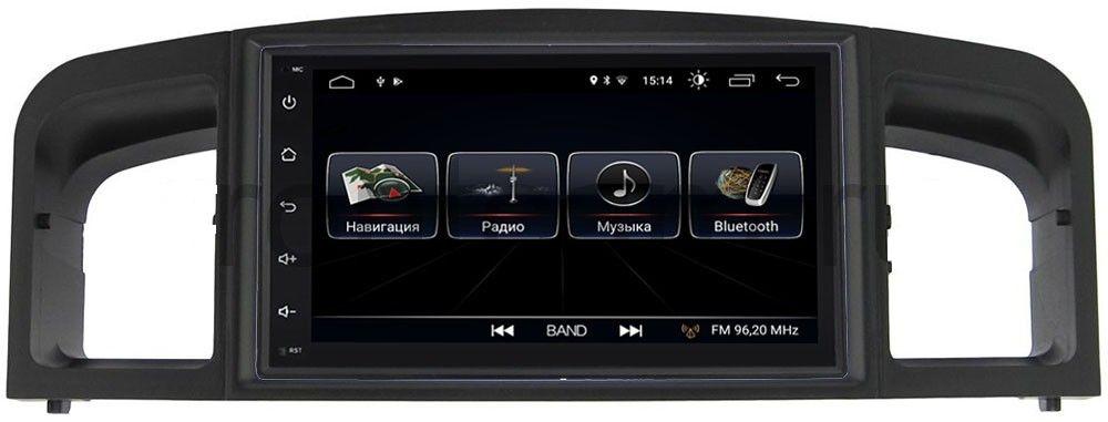 Штатная магнитола LeTrun 2380-RP-LF620-18 для Lifan Solano I (620) (2010-2014) Android 8.0.1 MTK-L (+ Камера заднего вида в подарок!)