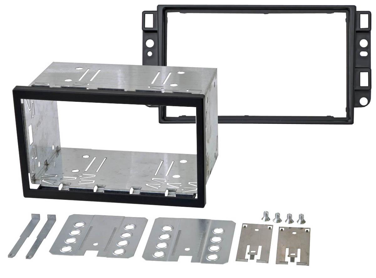 Переходная рамка Intro RCV-N01S для Chevrolet Aveo, Epica, Captiva 2DIN радитор отопителя паяный kraft для chevrolet aveo