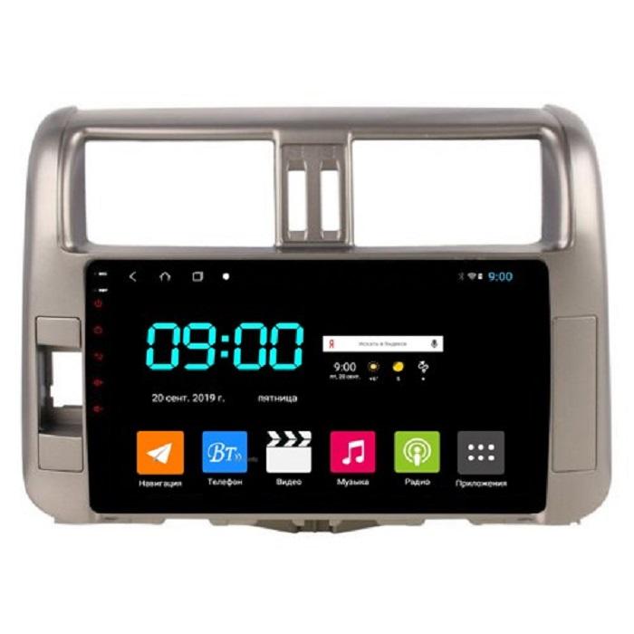 Головное устройство Vomi ST2753-TS9 для Toyota LC Prado 150 2010-2013 (+ Камера заднего вида в подарок!) штатная магнитола toyota lc prado 150 2014 2017 2 16 gb ips vomi vm2692 t8 android 7 8
