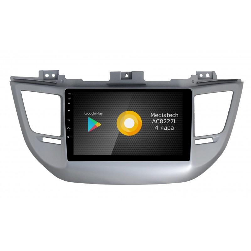 Штатная магнитола Roximo S10 RS-2013-N15 для Hyundai Tucson 2016 (Android 9.0) (+ Камера заднего вида в подарок!)