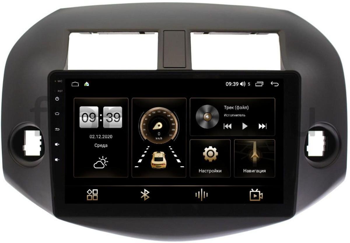 Штатная магнитола Toyota RAV4 (XA30) 2006-2013 LeTrun 4195-1001 на Android 10 (6/128, DSP, QLed) С оптическим выходом (+ Камера заднего вида в подарок!)