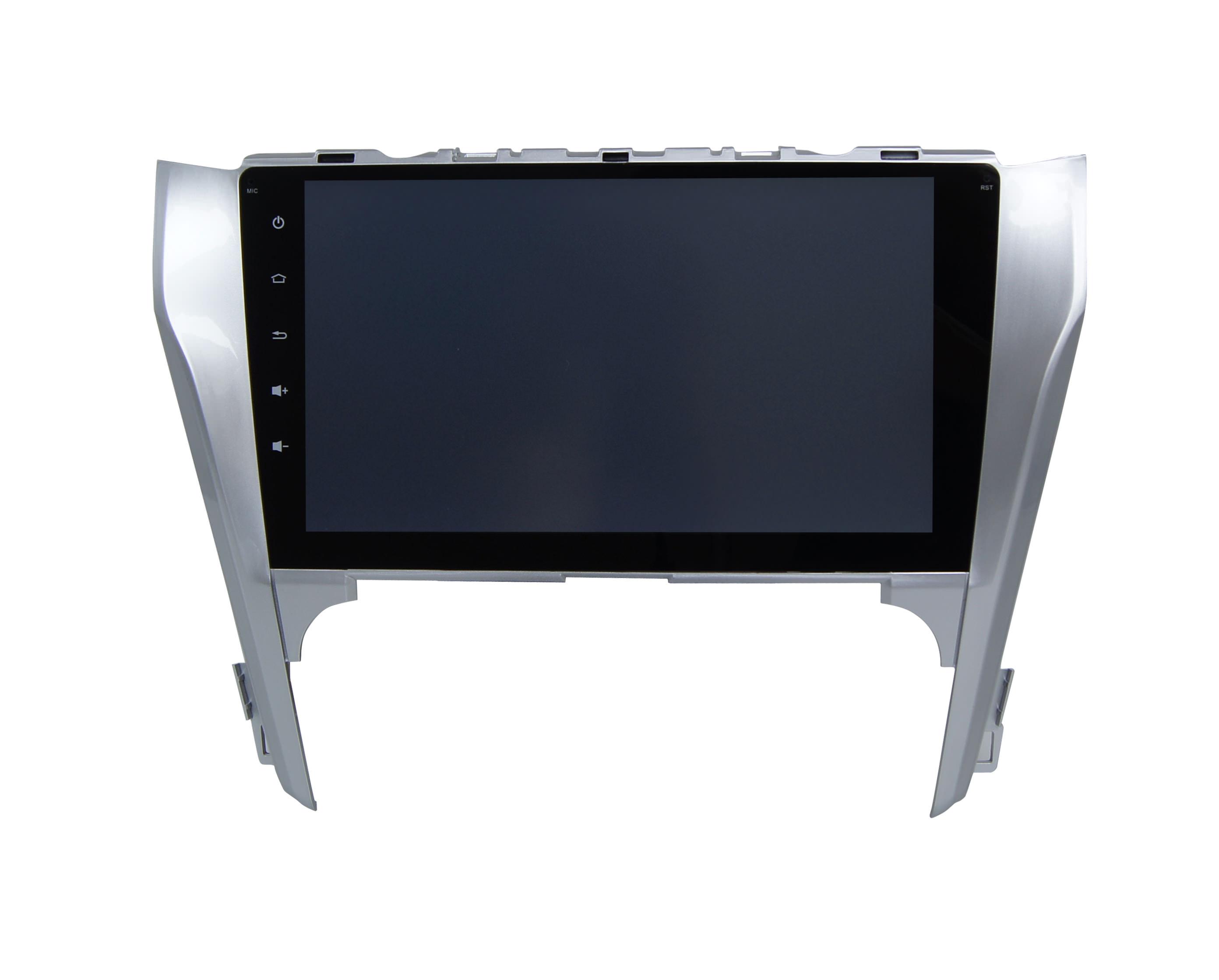 Штатная магнитола CARMEDIA QR-1017-T3 DVD Toyota Camry 2011-2014 (V50) поддержка штатного усилителя и настроек машины flyaudio для toyota camry v50