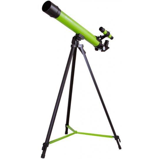 Фото - Телескоп Bresser Junior Space Explorer 45/600 AZ, зеленый (+ Книга «Космос. Непустая пустота» в подарок!) визаулин а энциклопедия для детей самолеты